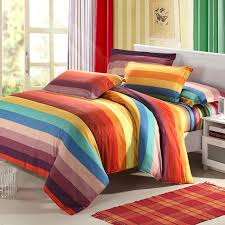 image of multi colored bedding strip
