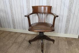 antique swivel office chair. Edwardian Swivel Office Chair In Oak Antique H