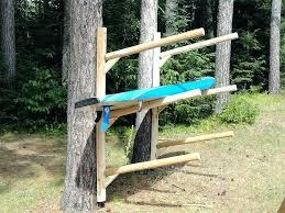 outdoor kayak rack outdoor kayak storage sup storage rack outdoor kayak rack design pvc