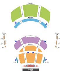 Gogue Performing Arts Center Seating Chart Auburn