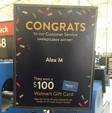 Maybe you would like to learn more about one of these? Walmart Savoy Congratulations To Alex M On Winning A 100 Walmart Gift Card By Completing The Walmart Survey Found On The Back Of Your Receipt Complete Your Survey Today On The