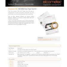 Elcometer E142 1 Dust Tape Test Kit Iso 8502 3