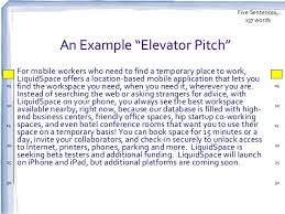 Elevator Pitch Examples For Students Elevator Pitch Examples Alisen Berde