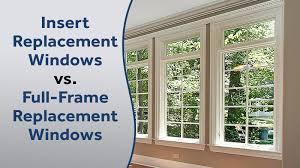 window replacement. Modren Window Insert Replacement Vs FullFrame Windows And Window H