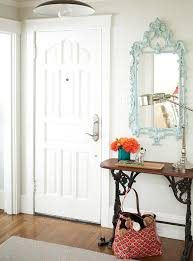 small entry table. Decoration Marvelous Small Entry Table And Mirror With Carved Wood Frame Also Burnt Orange Artificial B
