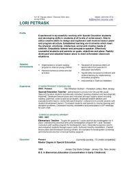 New Teacher Resume - Resume Templates