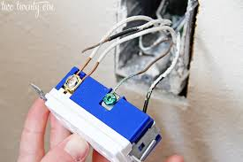 how to install a usb wall outlet receptacle outlet usb outlet installation