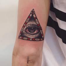 значение тату глаз в треугольнике пирамиде