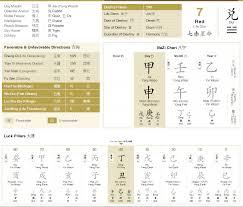 Bazi Luck Pillar A Stroke Of Luck Cheat Sheet To Life