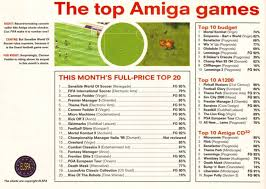 Gallup Charts Living By Numbers The Amiga Games Chart Database