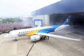 Embraer apresenta nova geração do jato E190 E2