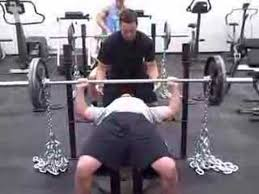 Phelps Training Systems Steve Brink Chain Bench Press 235X5  YouTubeChains Bench Press