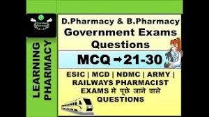 Most | Important | Questions Mcq Of | Pharmacy For | Pharmacist And ...
