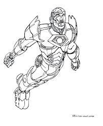 Dessin Colorier Iron Man 2 En Ligne