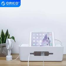 <b>ORICO Cable Organizer Silicone</b> USB Cable Winder Desktop Tidy ...