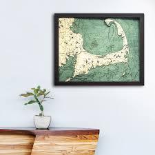 Cape Cod Wood Chart