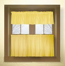 10 photos to yellow kitchen curtains valances