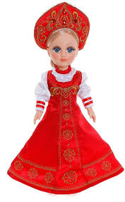 <b>Весна Кукла</b> озвученная <b>Анастасия</b> Русская красавица 42 см ...