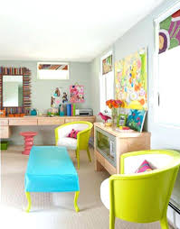 colorful home office. Office Design Colorful Home Light Colored U