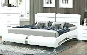 modern king bed frame. Modern Platform King Bed Frame .
