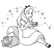 Small Picture Image Gallery of Alice In Wonderland Caterpillar Smoking Coloring