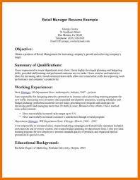 Retail Resume Template Australia Cv Sample Uk Manager Word Microsoft
