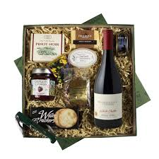 willamette valley vineyards oregon wine country wine gift basket