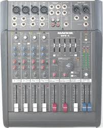 2009 i dj disco sound lighting hire equipment pa system mackie dfx6 6 inputs mixer