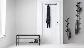 hallway furniture ikea. give your hallway a modern look with our tjusig storage furniture in black solid hardwood ikea