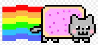 Contact Neon Cat Nyan Cat Gif Png Free Transparent Png Clipart