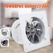 4 inch 20w 220v silent exhaust fan kitchen bathroom toilet window wall ventilation exhaust blower air