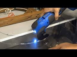 how to cut plexiglass acrylic fast and easy with an oscillating tool multi tool