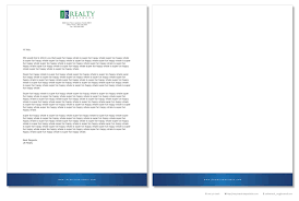 Upmarket, Professional, Real Estate Letterhead Design For A Company ...