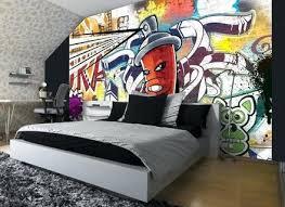 kids graffiti wall art bedroom