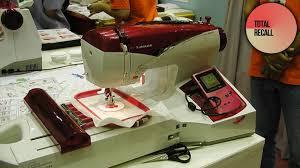 Gameboy Sewing Machine