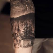 лес тату на руке эскиз значение татуировки дерево символика тату