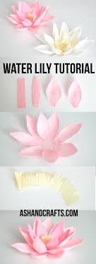 How To Make A Lotus Flower Out Of Paper How To Make A Paper Lotus Flower Magdalene Project Org