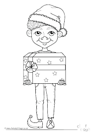 Elegant Elf On The Shelf Coloring Sheets Y8389 Premium Elf On The