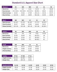 57 All Inclusive Standard Womens Size Chart