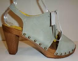 Sanita Shoe Size Conversion Chart Sanita Size 8 5 To 9 Eur 39 Spica Plateau Blue Leather Sandals New Womens Shoes