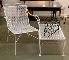 excellent vintage s wire garden chair vintage metal garden coffee table sold mid with vintage outdoor table