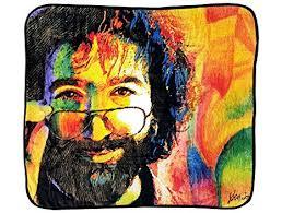 Jerry Garcia Throw Blanket