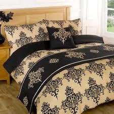 Duvet Quilt Bedding Bed In A Bag Gold Single Double King Kingsize ... & Duvet Quilt Bedding Bed In A Bag Gold Single Double King Kingsize Super King Adamdwight.com