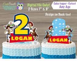Toy Story Cake Topper Etsy