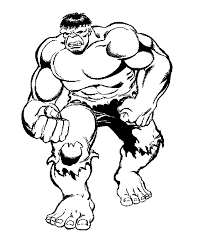hulk coloring pages photo 7