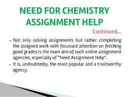 chemistry assignment help 11