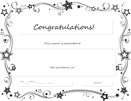 Microsoft Award Templates Certificate Template Word Editable Copy Congratulations