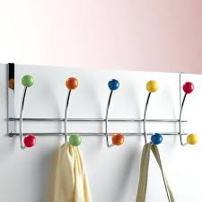 colorful coat hooks. Colorful Coat Rack Rustic Wall Mounted Hooks That Will Add Substance To Empty . E