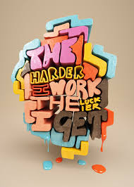 chris labrooy 3d lettering 3d letters harder i work3