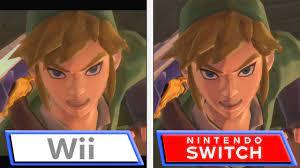Vergleichsvideo zu The Legend of Zelda ...